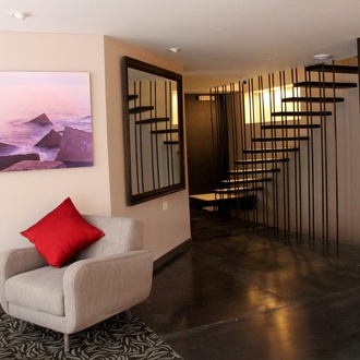 Lobby CityFlats Hotel